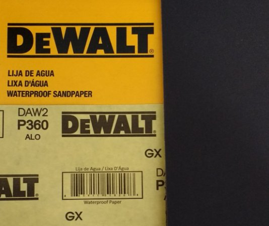DeWalt - Lixa Agua Oxido de Aluminio G 360 230 x 280 mm