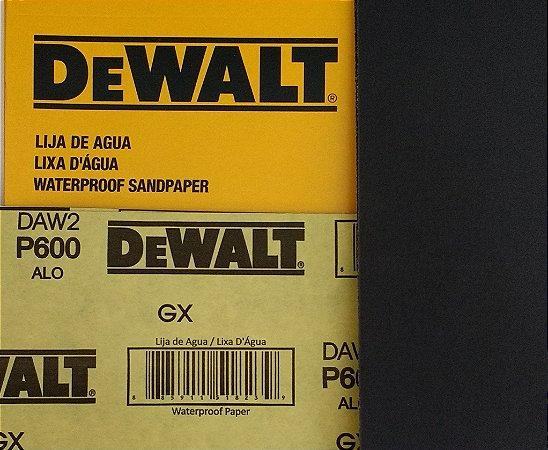 DeWalt - Lixa Agua Oxido de Aluminio G 600 230x280mm