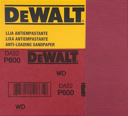 DeWalt - Lixa Seco Estearato G 600  230x280mm
