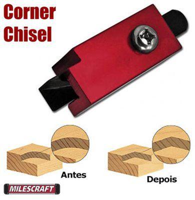 Milescraft - Formao de Canto para Dobradicas e Outros - 2220 - Corner Chisel