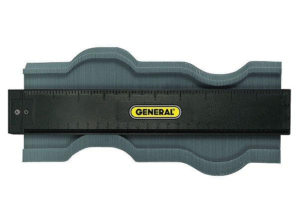 General Tools - Copiador de Contornos  255 mm - 10 In. Contour Gauge #833