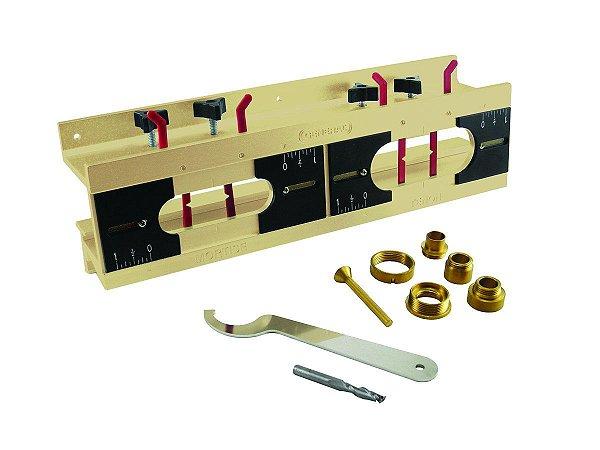 General Tools - Gabarito p/ Furas e Espigas - E-Z Pro Mortise & Tenon Jig Kit #870