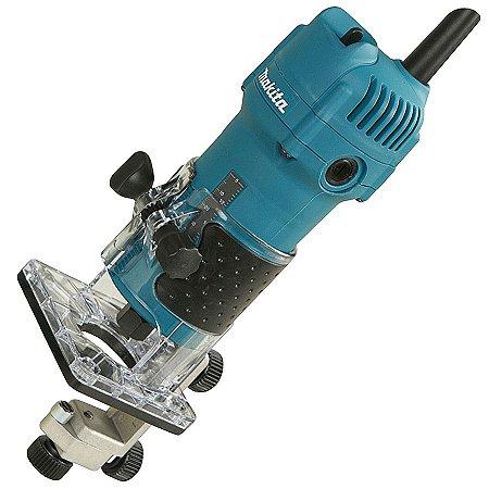 MAKITA - Tupia 3709 p/ laminados 220 V~ 530 Watts (6mm)