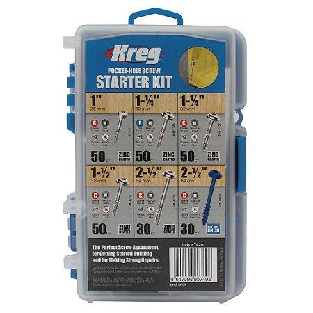 Kreg - Parafusos Pocket-Hole Screw Starter Kit c/ 225 peças (SK04-INT)