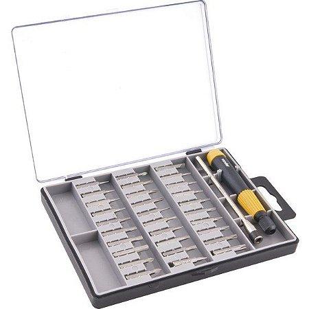 VONDER - Jogo de bits/ponteiras de precisão, com 32 peças, encaixe sextavado 4 mm