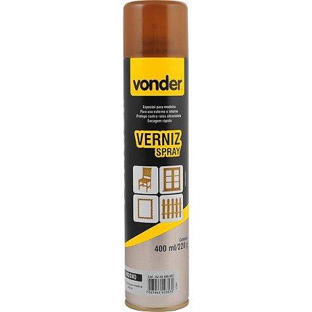 VONDER - Verniz em spray, mogno, 400 ml