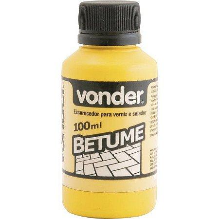 VONDER - Betume 100 ml (escurecedor para verniz ou selador)