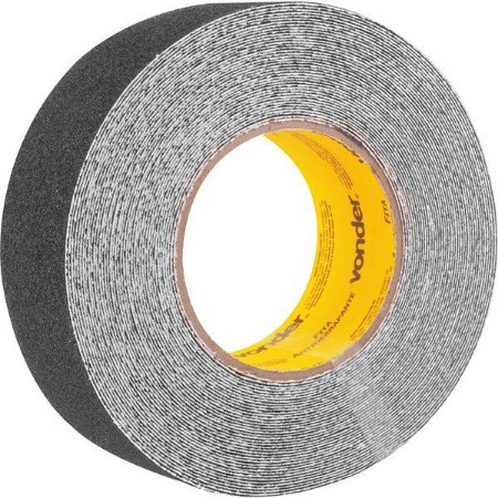 VONDER - Fita antiderrapante, Preta 50 mm x 15 m