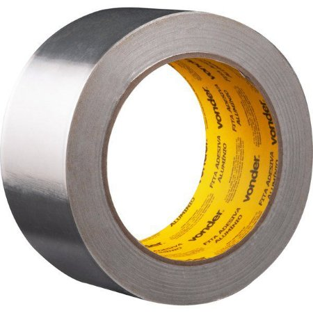 VONDER - Fita adesiva de alumínio 50 mm x 30 m