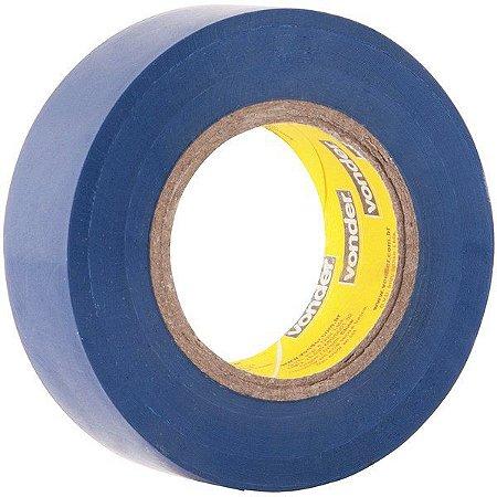 VONDER - Fita isolante, 19 mm x 10 m, azul