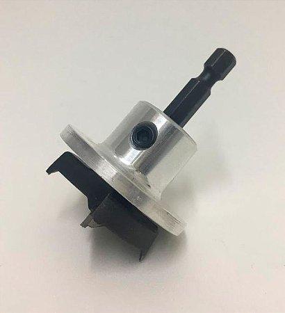 WPW - Broca p/ Dobradiça c/ Stopper 35mm x 9.13 Hex/60