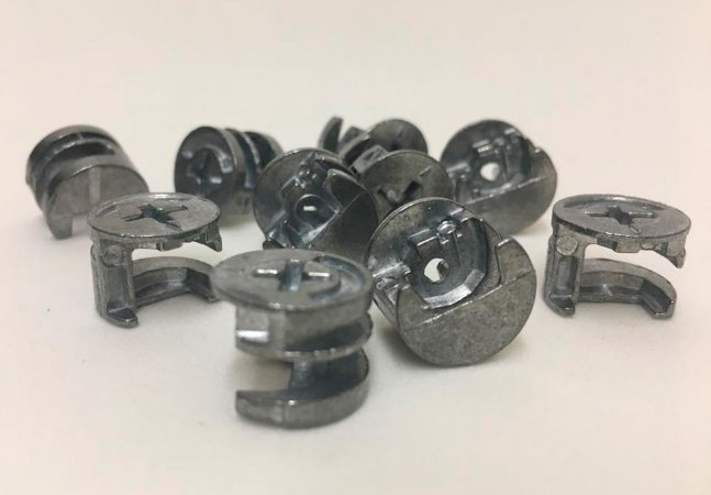 BIGFER - Minifix - Tambor 09.11.007.901 = 010 und - Bigfix 15 x 11 mm (sem acabamento)