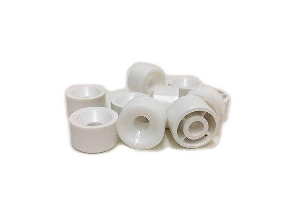 BIGFER - Suporte de Prateleira em Polímero = 010 und - (Branco) 04.02.002.005