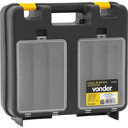 VONDER - Caixa plástica VD 7001 - Maleta Organizadora