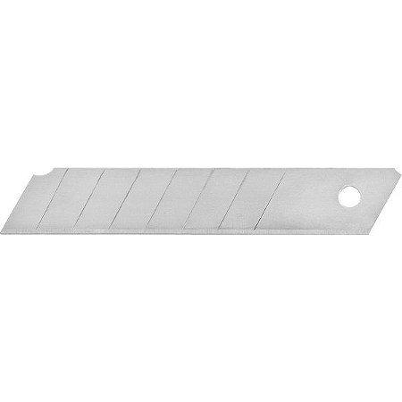 VONDER - Lâmina para estilete 18 mm, tubete c/10 unidades
