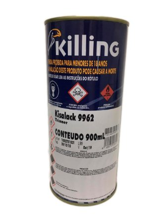 Killing - Thinner - 0.9 litros Kisalack 9962