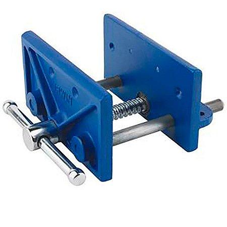 IRWIN - Prensa bancada p/ carpinteiro 6-1/2-in Cast Iron Blue Woodworkers Vise (Morsa ou Torno) 226361