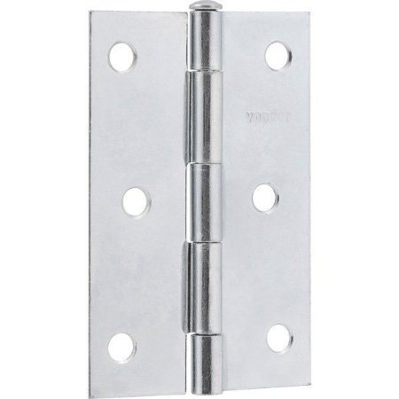 """VONDER - Dobradiça para porta em ferro zincado, 2"""""""