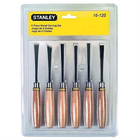 Stanley - Formão para Artesão - Jogo c/ 6 peças - 16-120