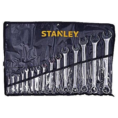 Stanley - Jogo de Chaves Combinadas (6-32mm) 15 Peças - STMT80934-840