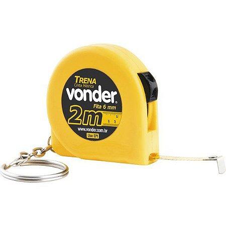 Vonder - Trena chaveiro de aço 2 m x 6 mm