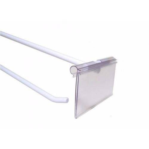 Alfani - Porta Etiqueta em PVC incolor Porta Gancheiras Porta Preço (unidade)