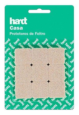 Hardt - Protetores de Feltro Quadrado 25x25 3mm 18 und R0005BG