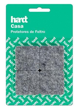 Hardt - Protetores de Feltro Quadrado 38x38 3mm 08 und R0006CZ