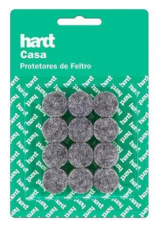 Hardt - Protetores de Feltro Redondo D19 3mm 24 und R0001CZ