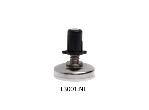 Hardt - Sapata niveladora Regulável D21xM6 - L3001NI
