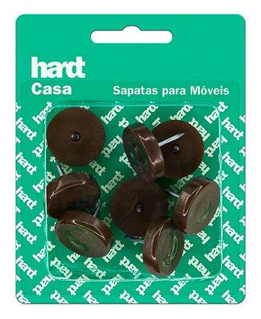 Hardt - Sapatas c/ prego p/ móveis plástico PP D25 08 und R0056MR
