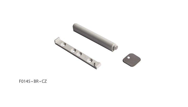 Hardt - Fecho Toque Magnético D9 x 82 Cinza (F0145CZ)