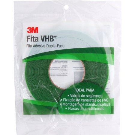 3M - Fita Dupla Face VHB  - 9,5mm x 20m - 10.46.491.095