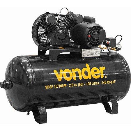VONDER - Compressor de ar - VDSE 10/100M - Monofásico - 127V/220V