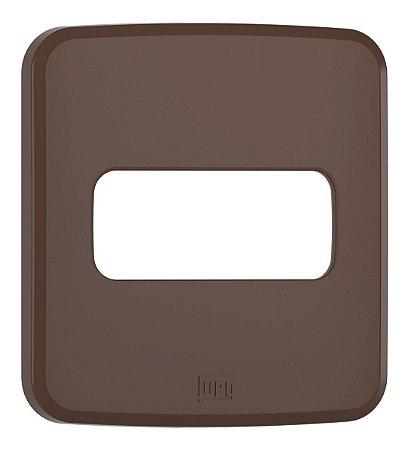 WEG - Composé - Placa de Embutir - Móveis - 1 Posição - Marrom