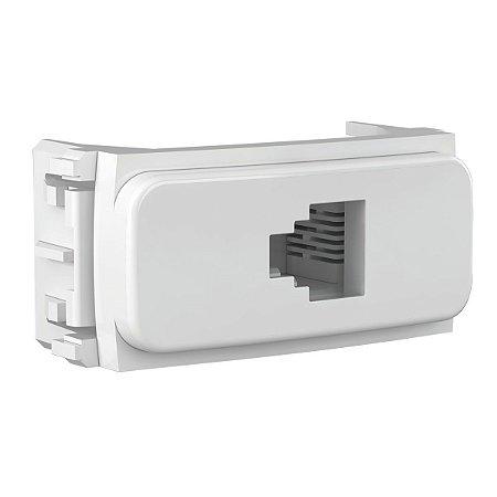 WEG - Composé - Tomada de Comunicação - RJ11 - 4 Fios - Branco