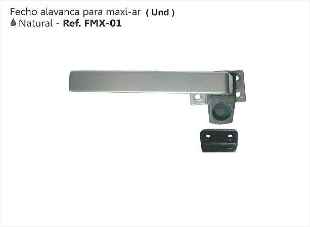 Perfil - Maxi-Ar - FMX-01 - Fecho Alavanca Cor Natural