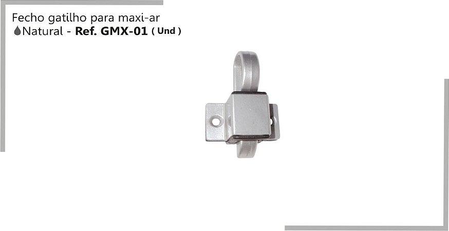 Perfil - Maxi-Ar - GMX-01 - Fecho Gatilho Cor Natural