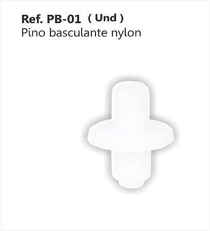 Perfil - Pino p/ Basculante - PB-01 - Nylon