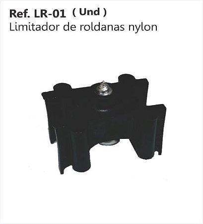 Perfil - Roldana - LR-01 - Limitador de roldanas nylon