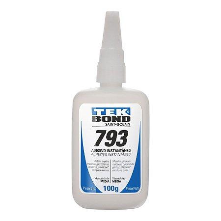 Tekbond - Adesivo Instantâneo 793 - Bico Antientupimento - 100g