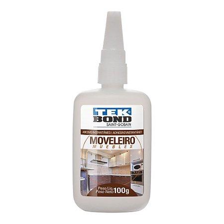 Tekbond - Adesivo Instantâneo Moveleiro - Bico Antientupimento - 100g