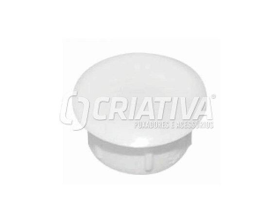 Criativa - Tapa Furo Plástico - 8mm - Branco