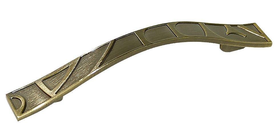 Criativa Maxima - Puxador p/ Móveis - 96mm - Zamac - Antique Brilhante - 2030