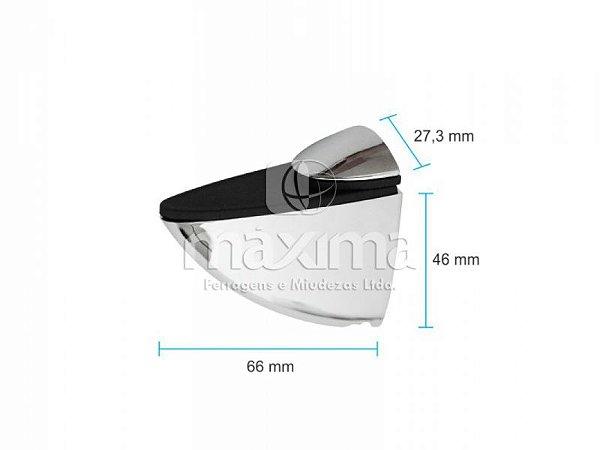 Criativa Maxima - Suporte Tucano Médio - Cromado - MAX 170