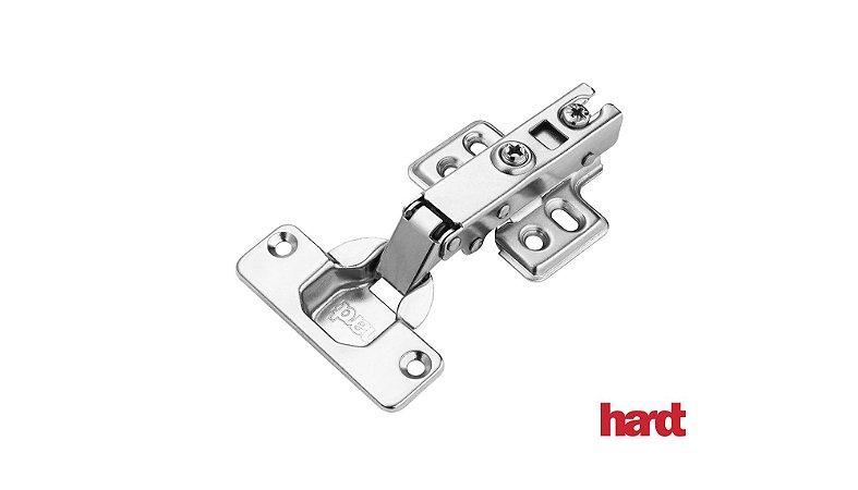 Hardt - Dobradiça de Caneco 35mm - S22/105 Slide On - Baixa (4 Furos) Básica s/ amortecedor