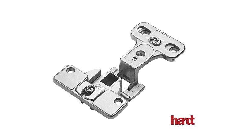 Hardt - Dobradiça de Caneco 35mm - S70/270 Slide On REC 15- Baixa (2 Furos)