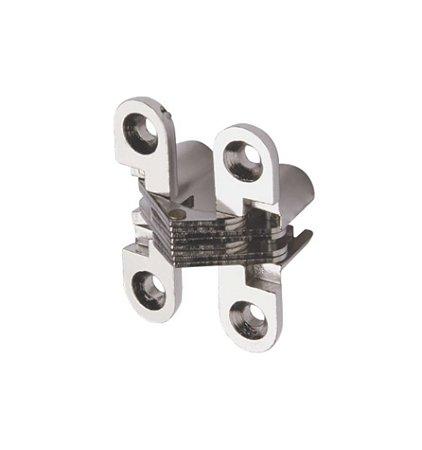 Hardt - Dobradiça Invisível - 45 x 12mm - Cromado - F0042CR