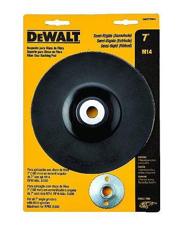 Dewalt - Suporte Disco de Fibra - 115mm - Semi Flexível M14 - DABP4SFM14