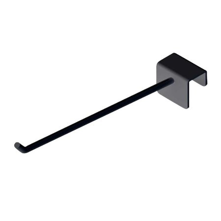 DiCarlo - Gancho p/ Barra Reta Smart Black - 5mm x 10cm